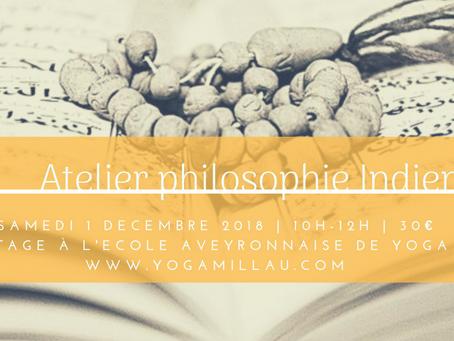 Atelier Philosophie Indienne