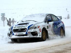 Winner!! Antoine L'Estage triumphs at Rallye Perce Neige 2015
