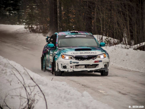 Winner!! Nick Roberts has great results at the Sno'Drift Rally 2015