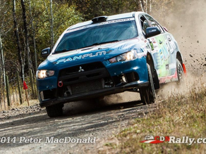 Boris Djordjevic wins Pacific Forest Rally Production All Wheel Drive Class