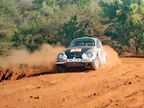 Success!... Superb result for Francis Tuthill and VW Beetle