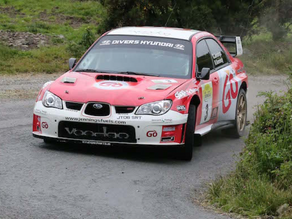 Donegal Rally 2015 won by Garry Jennings!