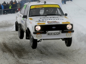 Success for Petter Solberg at WRC Rally Sweden Historic 2015