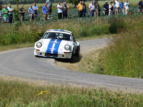 Stefaan Stouf Winner of the Ypres Historic Rally 2015
