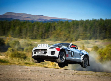 Special F-type rally takes to the stages