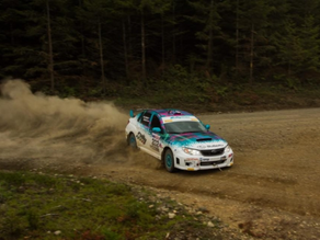 Olympus Rally success for Nick Roberts SP Class