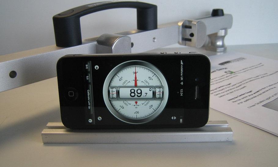 Smartphone Camber Gauge