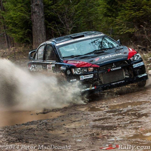 L'Estage wins 2014 Canadian Rally Championship at Rocky
