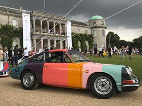 Porsche 70th anniversary celebration at FoS 2018