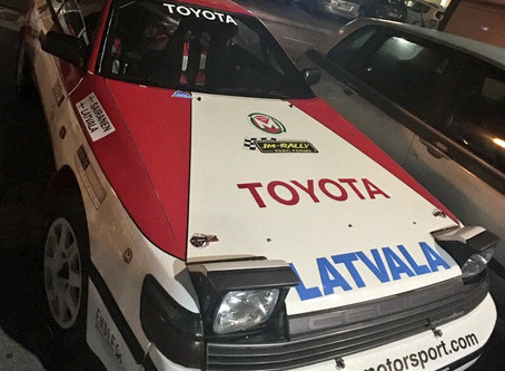 Classic Toyota star of the show at Preapli Masters 2017