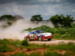 Another amazing win for Tuthill Porsche at the East African Safari Rally
