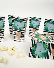 Boîte de Pop Corn Jungle
