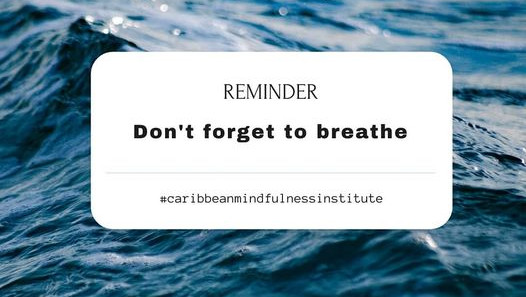 Mindfulness Tip:  Don't Forget To Breathe