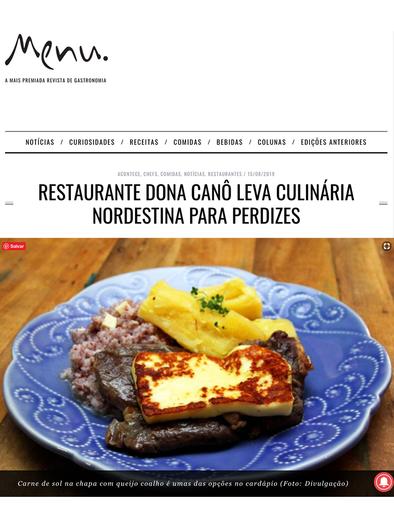 Restaurante Dona Canô leva culinária nordestina para perdizes
