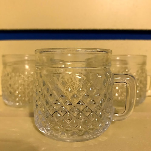Xícara de vidro - casa da vó