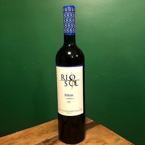 Vinho Rio Sol - Syrah 2017 - 750ml