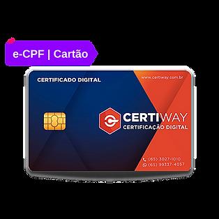 Cópia de certificado digital cartão e-CP