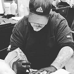 Chris Bowen award winning tattoo artist