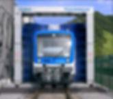Мойка для поездов в Казахстане