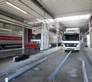 Мойка грузовика Казахстан