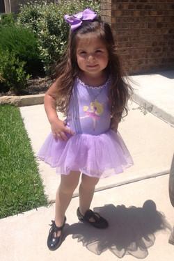 Little Dancer- Ready for dance class