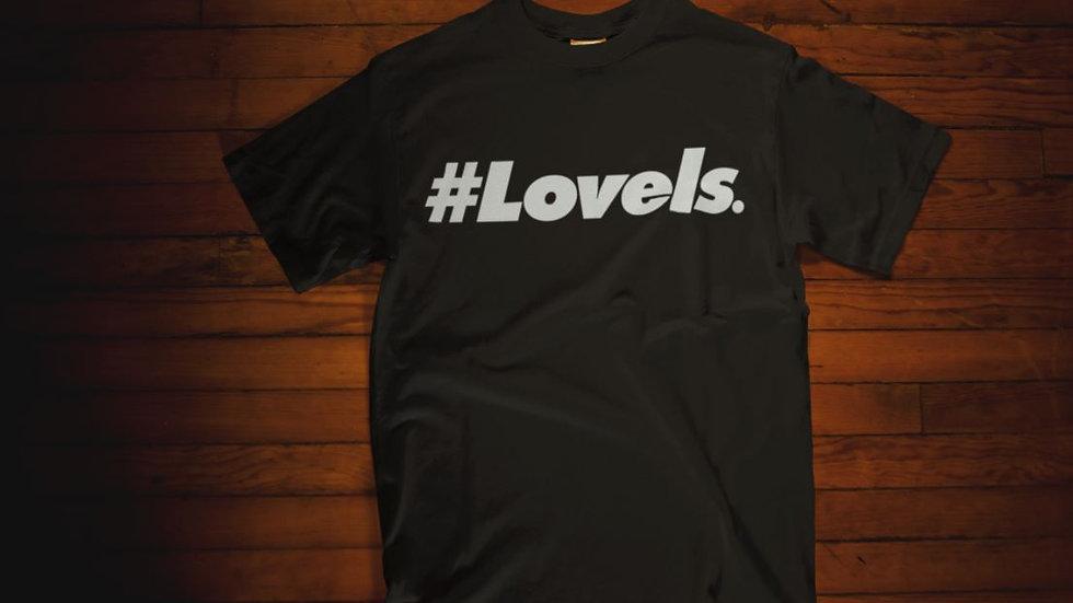 Love Is T-Shirt (Black/White)