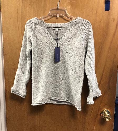 Rebecca Minkoff XXS gray Vneck sweater!