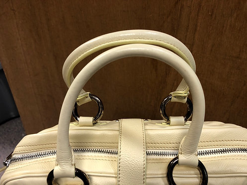 Marc Jacobs butter yellow leather handbag