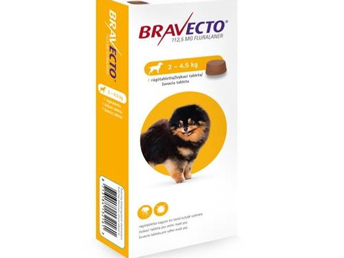 Bravecto Dog XS