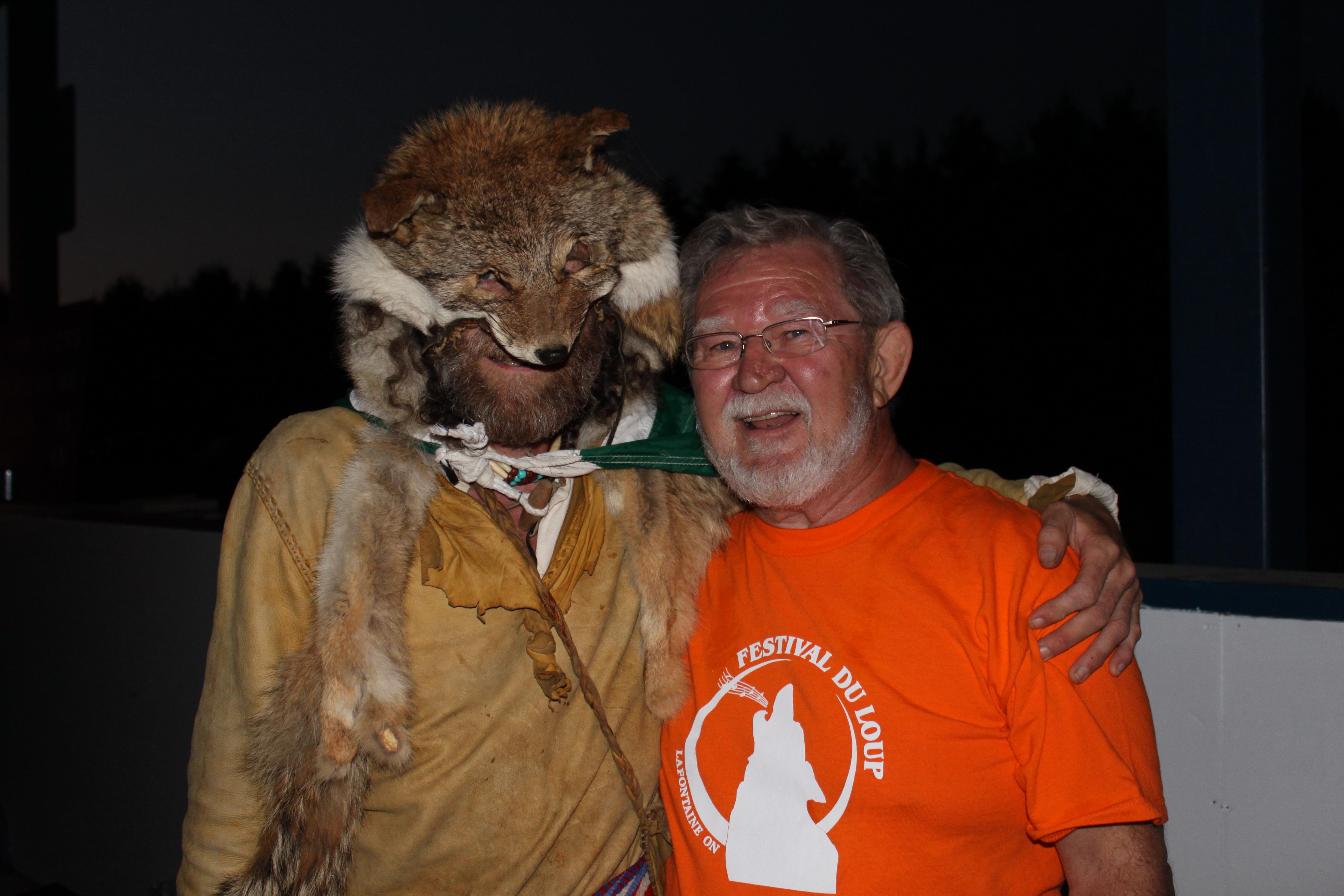 Le loup et Martin Lalonde