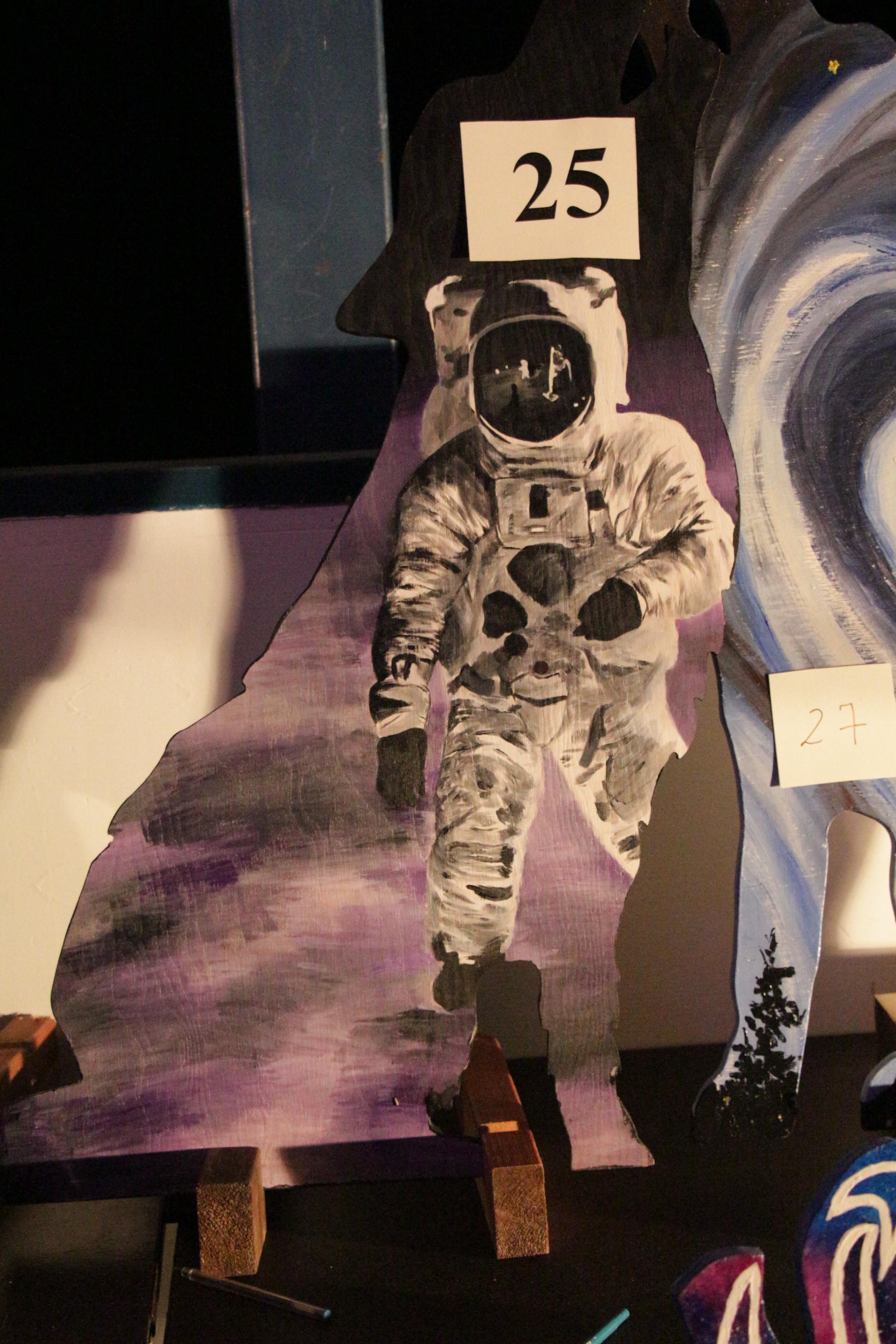 Loup astronaute