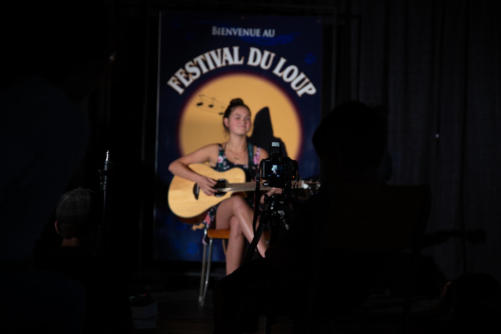 Camp artistique Festival du loup
