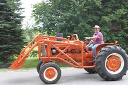 Parade de tracteurs