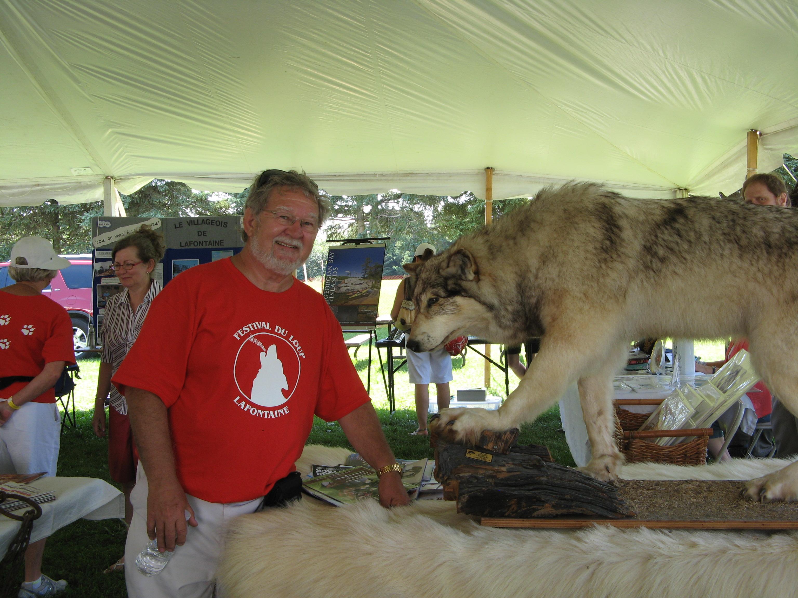 Martin et le loup