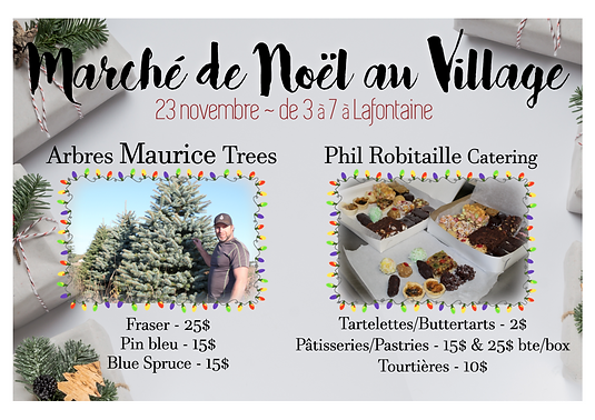 Carte poste noel au village test2 (22 oc