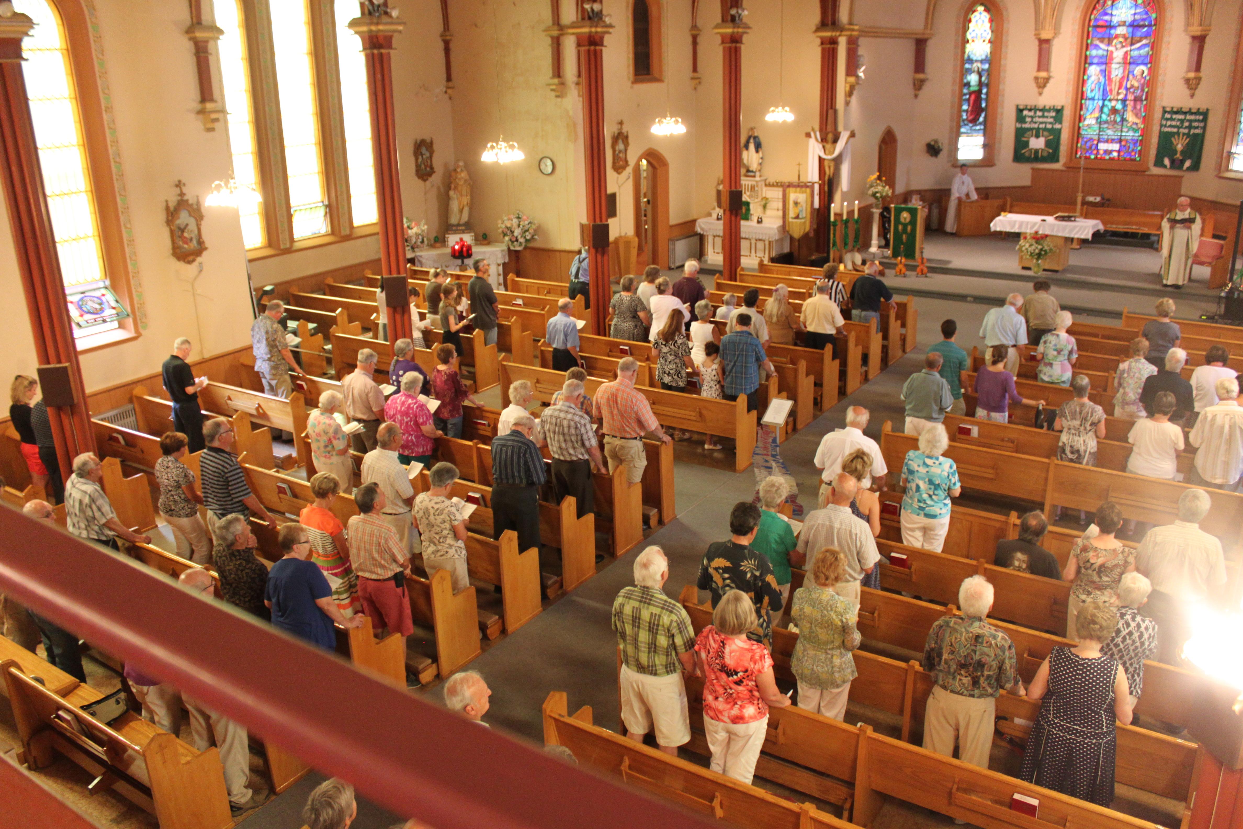 La messe folklorique