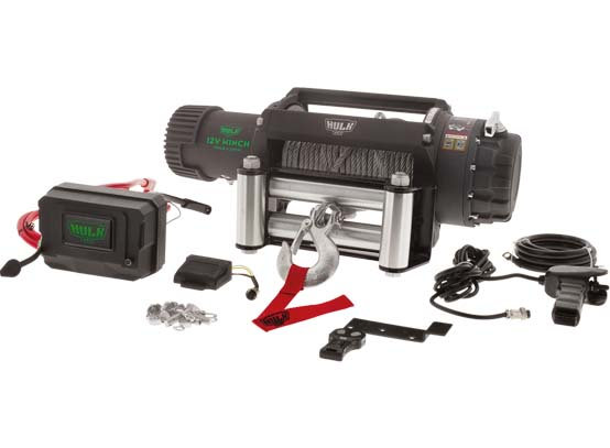 ELECTRIC 4X4 WINCH PROFESSIONAL SERIES STEEL CABLE 9500LBS