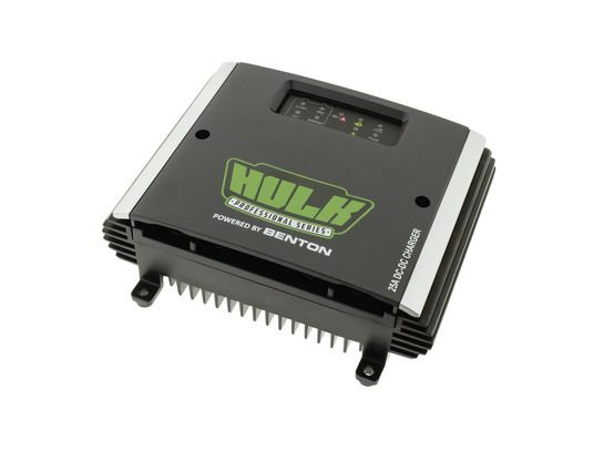 HULK DC-DC FULLY AUTOMATIC BATTERY CHARGER - 25 AMP 12V