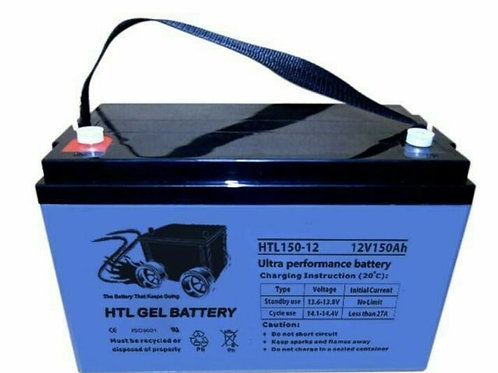 AGM/GEL 150Ah Amp Hour Ultra performance Deep cycle battery