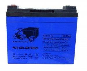 HTL40-12 ULTRA PERFORMANCE GEL BATTERY