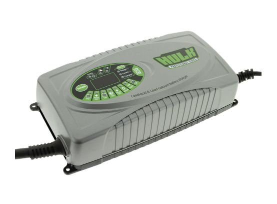 9 STAGE FULLY AUTOMATIC SWITCHMODE BATTERY CHARGER - 25 AMP 12/24V