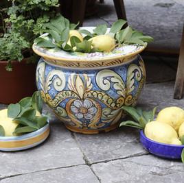 La cerámica Siciliana, una explosión de color
