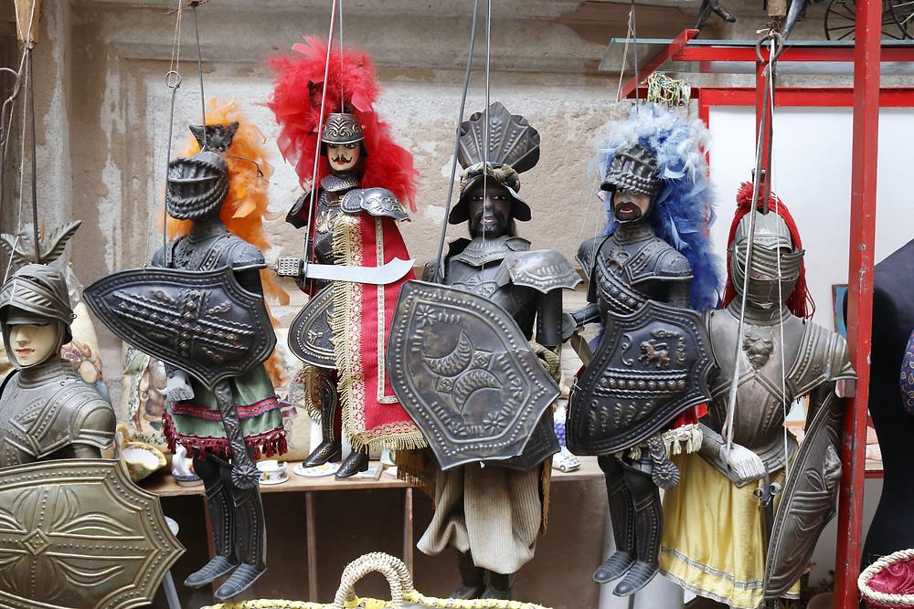 souvenir típico siciliano