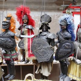 "La ""opera dei Pupi"". El arte tradicional siciliano."
