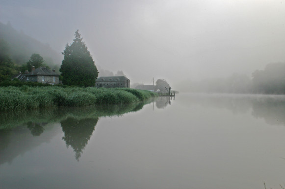 Cotehele Creek.