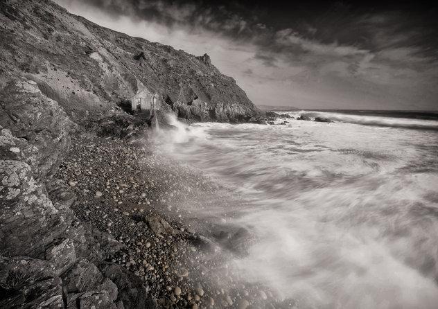Cape Cornwall Summer Storm