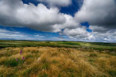 Moorland clouds