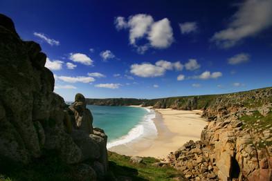 Pednvounder beach, Cornwall.