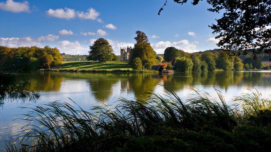 Sherborne castle.