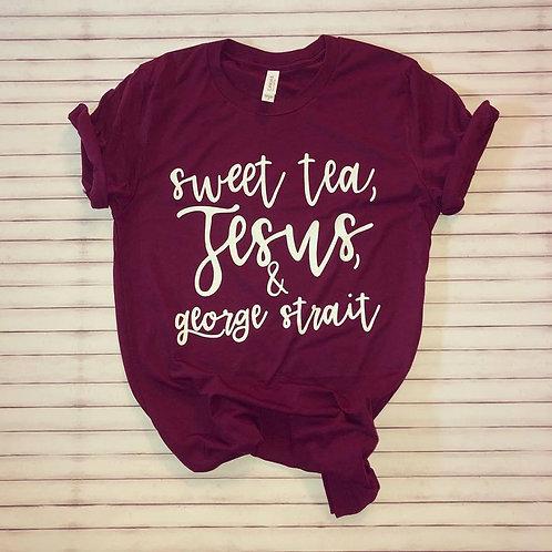 Sweet Tea, Jesus, & George